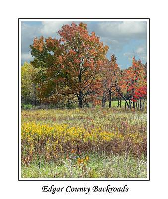 Photograph - Edgar County Back Roads by Virginia Folkman