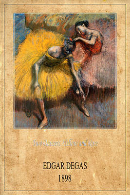Photograph - Edgar Degas 2 by Andrew Fare