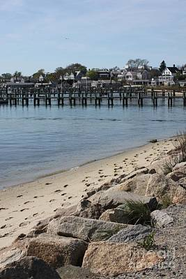 Photograph - Edgartown Beach by Carol Groenen