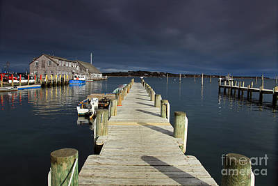 Photograph - Edgartown Harbor by Butch Lombardi