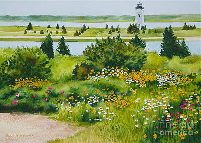 Edgartown Light Art Print