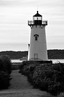 Edgartown Lighthouse Art Print by David Champigny