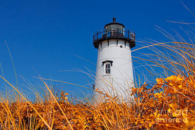 Photograph - Edgartown Lighthouse by Mark Miller
