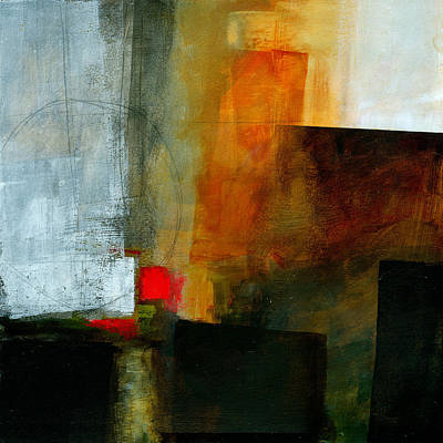 Abstract Painting - Edge Location 3 by Jane Davies