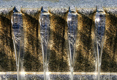 Photograph - Edge Of A Fountain by Robert Woodward