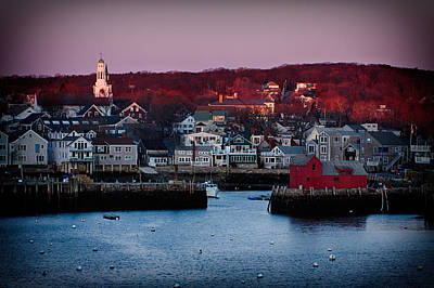 Photograph - Edge Of Dawns Light-rockport by Jeff Folger