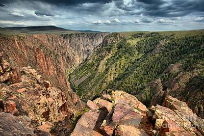 Photograph - Edge Of The Black Canyon by Adam Jewell