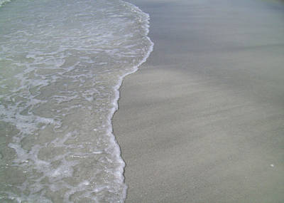 Photograph - Edge Of The Ocean by Ginny Schmidt