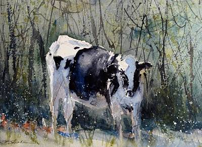 Painting - Edge Of The Pasture by Sandra Strohschein