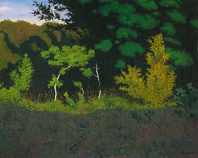 Edge Painting - Edge Of The Wood by Felix Vallotton