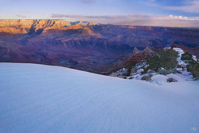 Snow Banks Photograph - Edge Of Winter by Peter Coskun