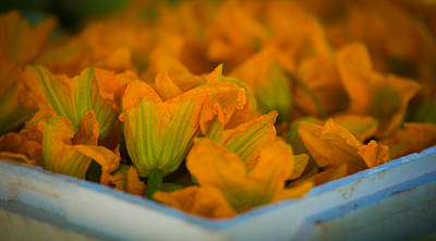 Photograph - Edible Flowers by Matthew Onheiber