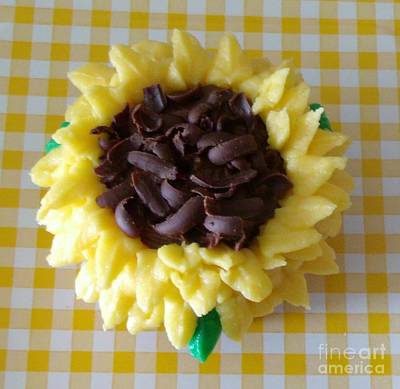 Photograph - Edible Sunflower by Gail Matthews