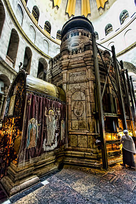 Sepulchre Photograph - Edicule Of The Tomb by Stephen Stookey
