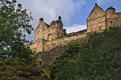Photograph - Edinburgh Castle - Scotland by Jane McIlroy