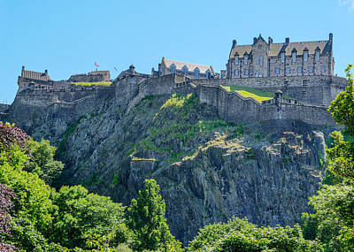 Photograph - Edinburgh Castle by Alan Toepfer