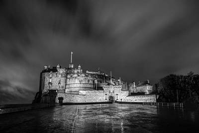 Photograph - Edinburgh Castle by Brian Grzelewski