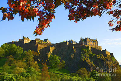 Photograph - Edinburgh Castle  by Craig B