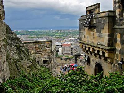 Photograph - Edinburgh Castle by Denise Mazzocco