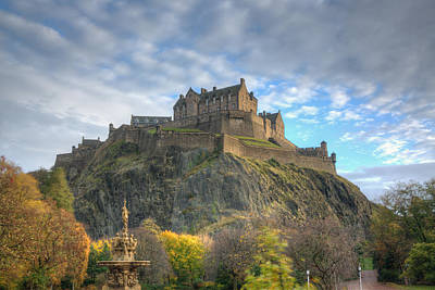 Photograph - Edinburgh Castle by Dustin  LeFevre