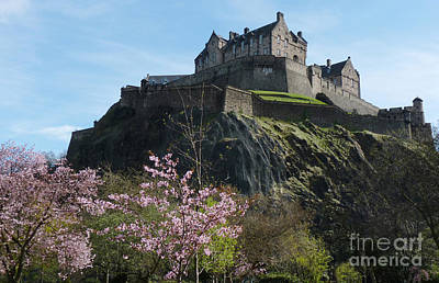 Photograph - Edinburgh Castle - Scotland by Phil Banks