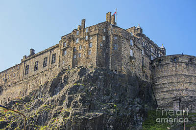 Photograph - Edinburgh Castle by Patricia Hofmeester