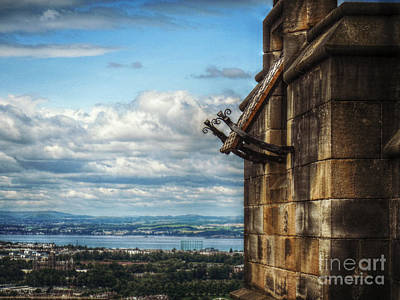Photograph - Edinburgh Castle by Valerie Reeves