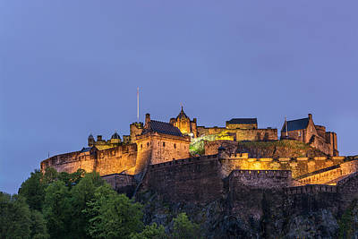 Photograph - Edinburgh Castle by Veli Bariskan