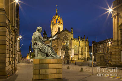 Royal Mile Photograph - Edinburgh Cathedral by Brian Jannsen