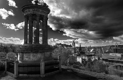 Photograph - Edinburgh From Calton Hill by Ross G Strachan