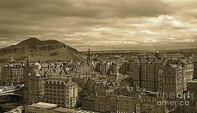 Photograph - Edinburgh by Louise Fahy