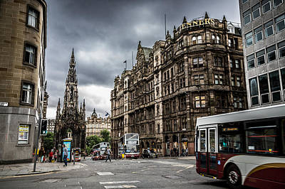 Photograph - Edinburgh by Matthew Onheiber