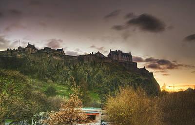 Photograph - Edinburgh Rock by Jean-Noel Nicolas