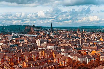 Photograph - Edinburgh. Scotland by Jenny Rainbow