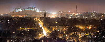 Photograph - Edinburgh City Skyline by Karsten Moerman