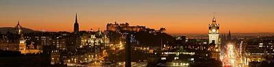 Photograph - Edinburgh Skyline by Stephen Taylor
