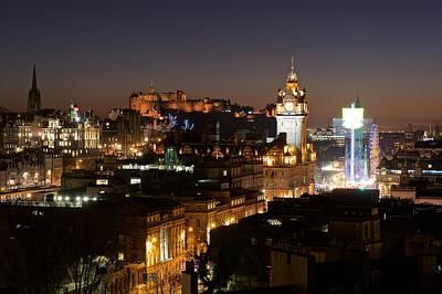 Photograph - Edinburgh by Stephen Taylor