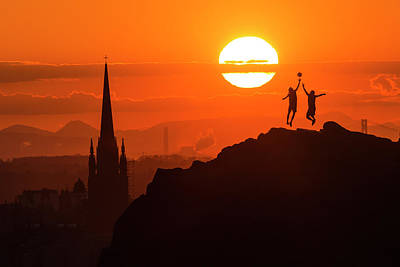 Edinburgh Tip Off Art Print