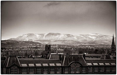 Photograph - Edinburgh Views Towards Snow Capped Mountains by Lenny Carter