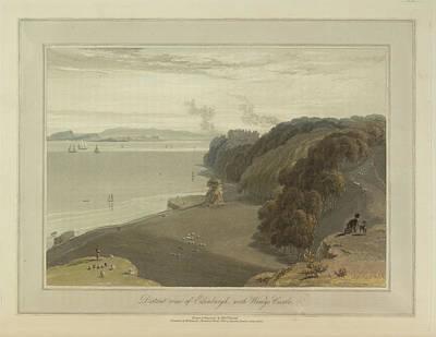 Edinburgh With Wemys Castle Art Print by British Library