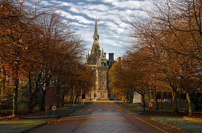 Photograph - Edinburgh's Fettes College by Ross G Strachan