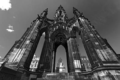 Photograph - Edinburgh's Scott Monument by Ross G Strachan