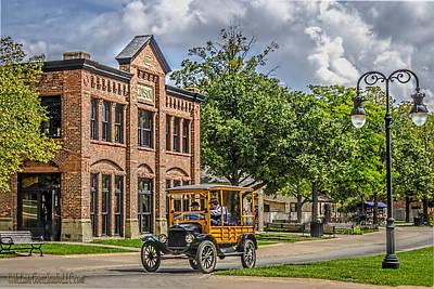 Photograph - Edison Model T Ford by LeeAnn McLaneGoetz McLaneGoetzStudioLLCcom