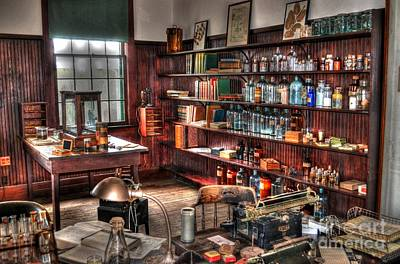 Photograph - Edison's Lab by Timothy Lowry