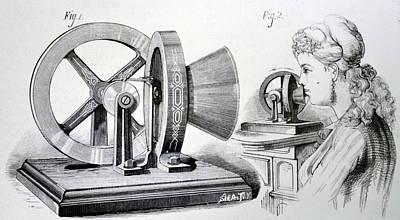 Edison's Phonometer Art Print