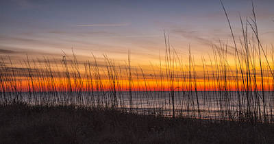 Edisto Beach Sunrise 02 Art Print