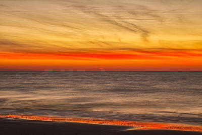 Edisto Beach Sunrise 07 Art Print