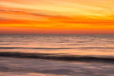 Photograph - Edisto Beach Sunrise 11 by Jim Dollar