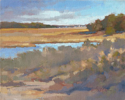 Low Country Painting - Edisto Study 11 by Todd Baxter