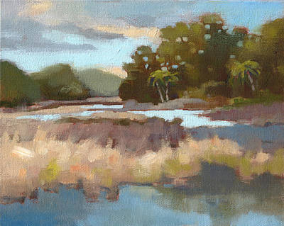 Low Country Painting - Edisto Study 12 by Todd Baxter